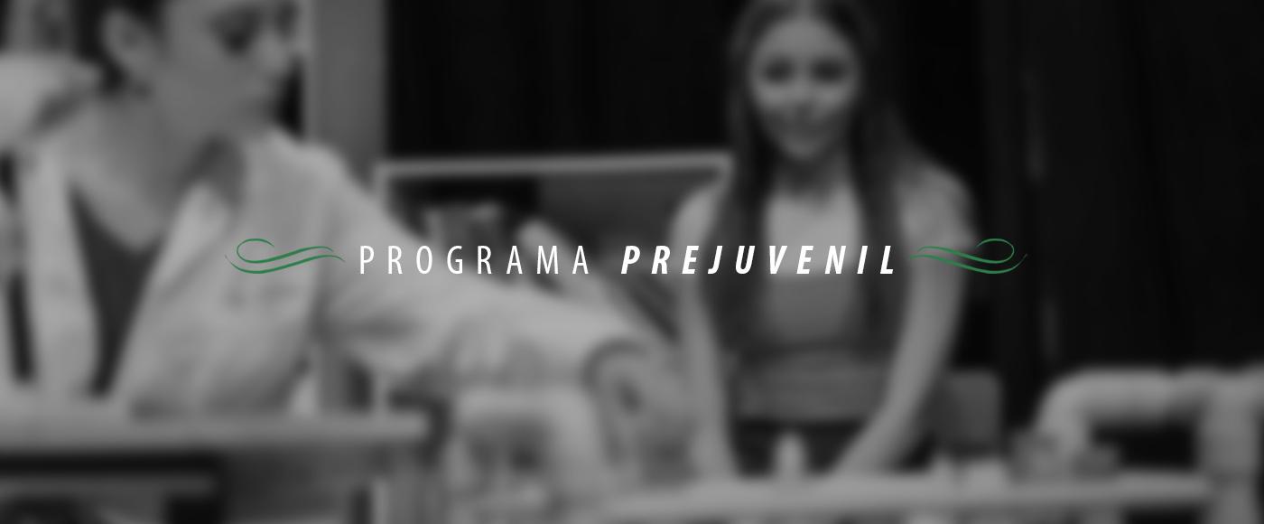Programa Prejuvenil fabula