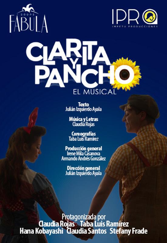 Cartelera-Clarita yPancho