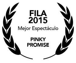 5-PinkyPromise Mejor Espectáculo FILA
